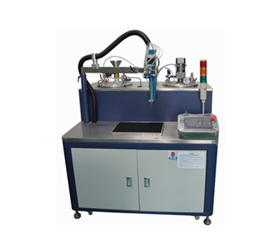 Fully automatic mixing machine